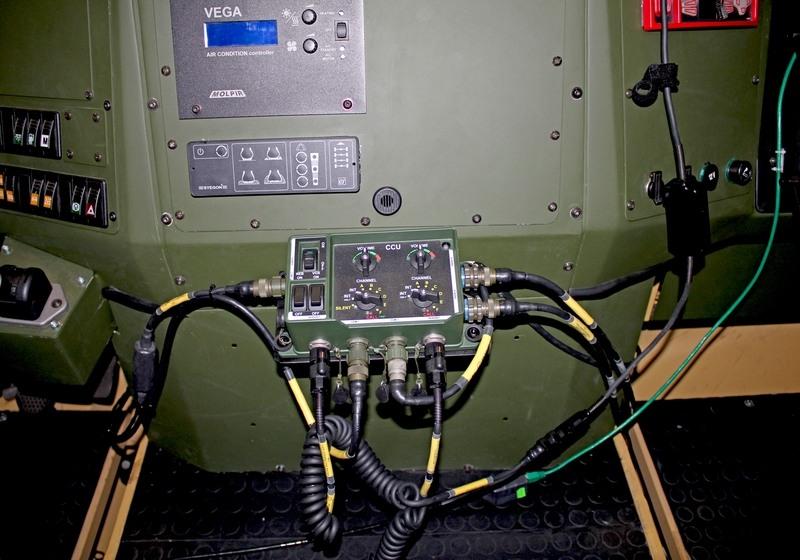 VICM 200 COMBAT na obrněném transportéru VEGA firmy SVOS
