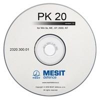CD s ovládacím programem PK20