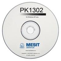 CD s ovládacím programem PK1302