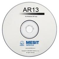CD s ovládacím programem AR13