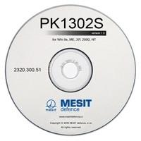 CD s ovládacím programem PK1302S