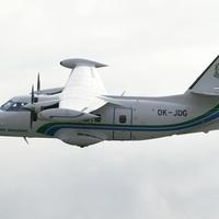 Souprava palivoměru na letounech