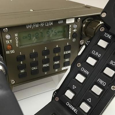 DICOM®RF13 radio system