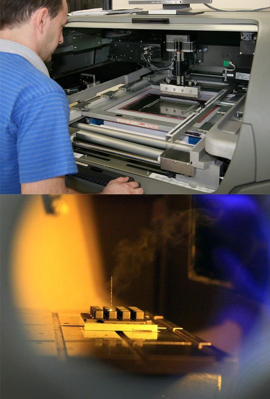 Laser marking, pad printing, screen printing