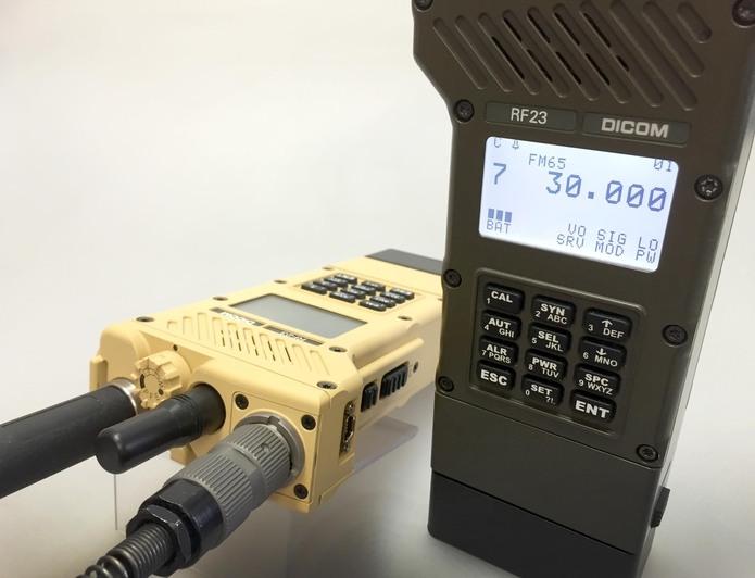 DICOM®RF23 EPM handheld transceiver