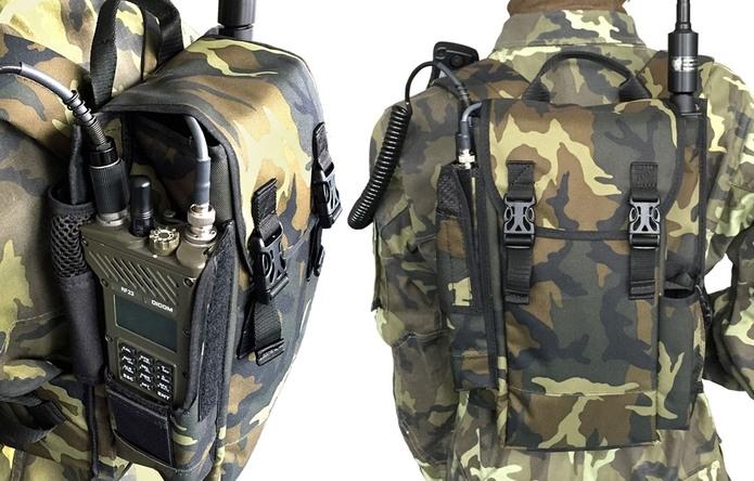DICOM®RF2305 Manpack radio