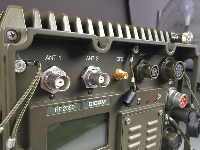 Fixed frequency operation (FF) in HF and VHF bands