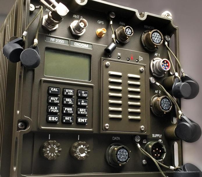 DICOM®RF2350 EPM mobile transceiver