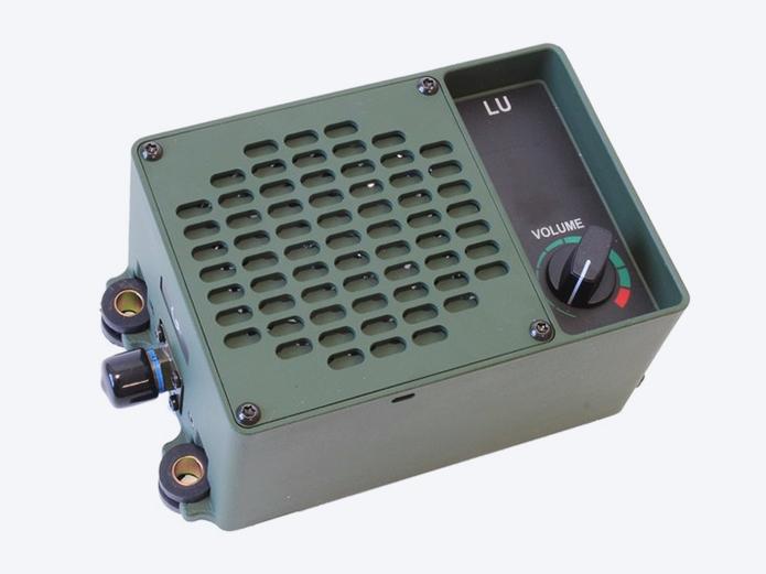 Tactical loudspeaker