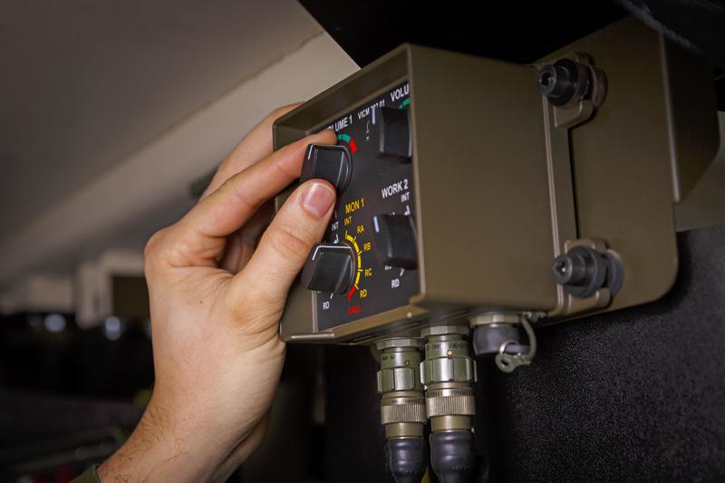 MESIT - digitální interkom VICM 200 COMBAT