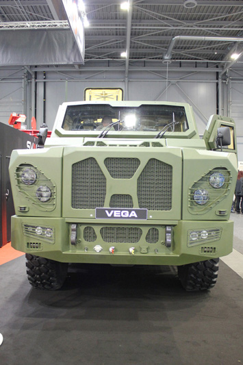 VICM 200 COMBAT in the armoured personnel carrier VEGA manufactured by SVOS